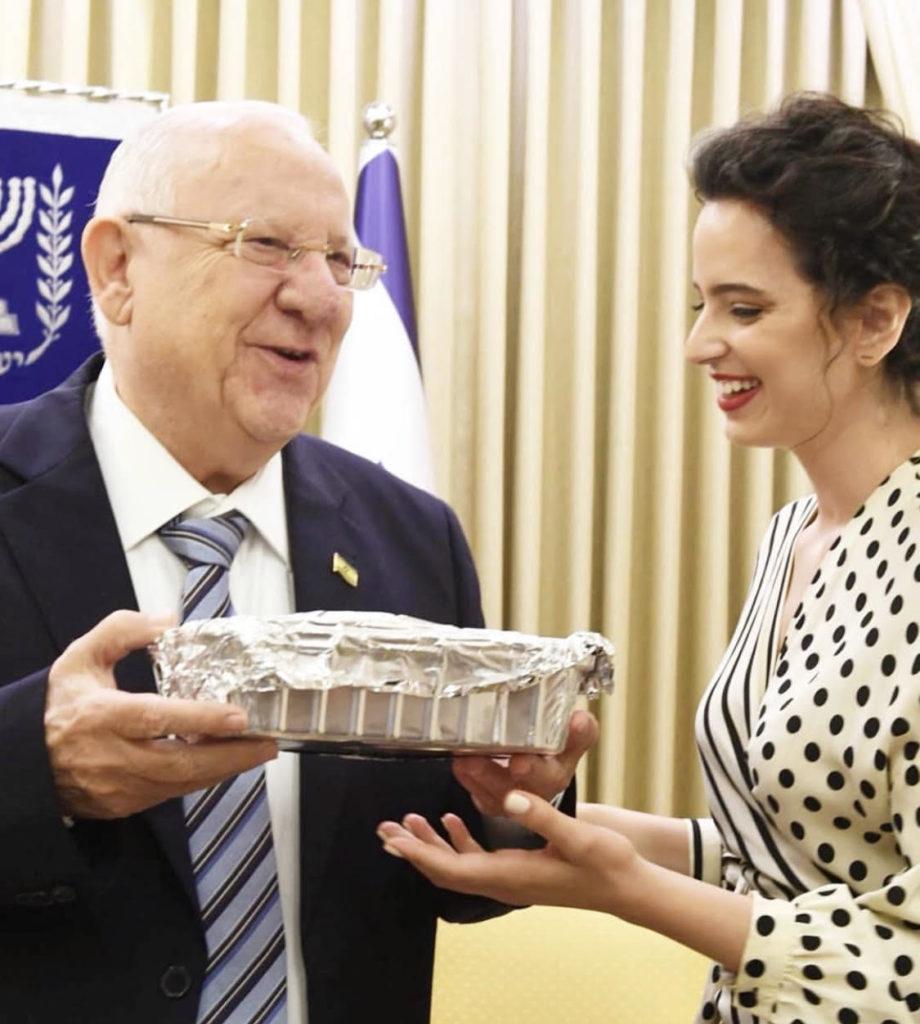 עוגת שמרים לנשיא ריבלין - קורין גדעון